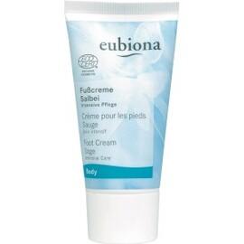 Crème pieds à la sauge bio - 50.0 ml - eubiona face bio - eubiona -14437