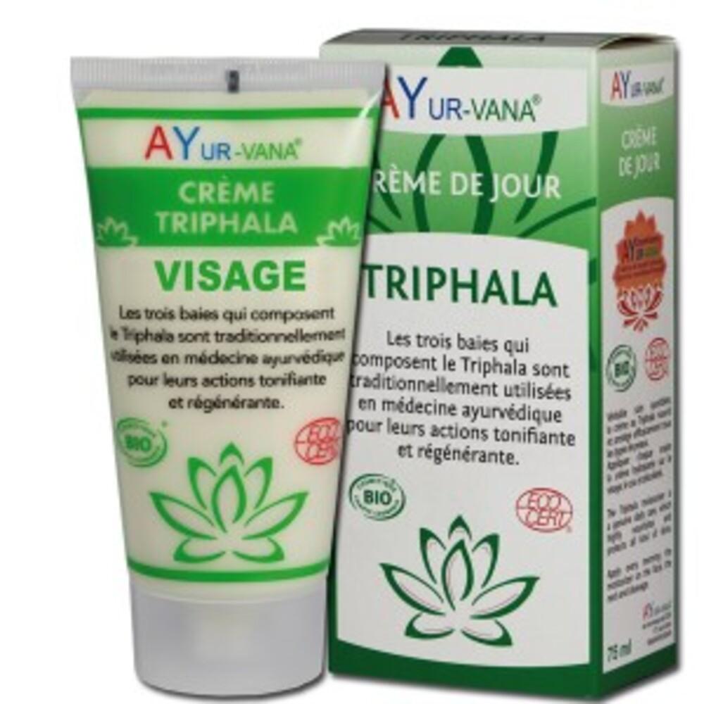 Crème triphala visage (amalaki, bibhitaki, haritaki) bio - tube... - divers - ayur-vana -139505
