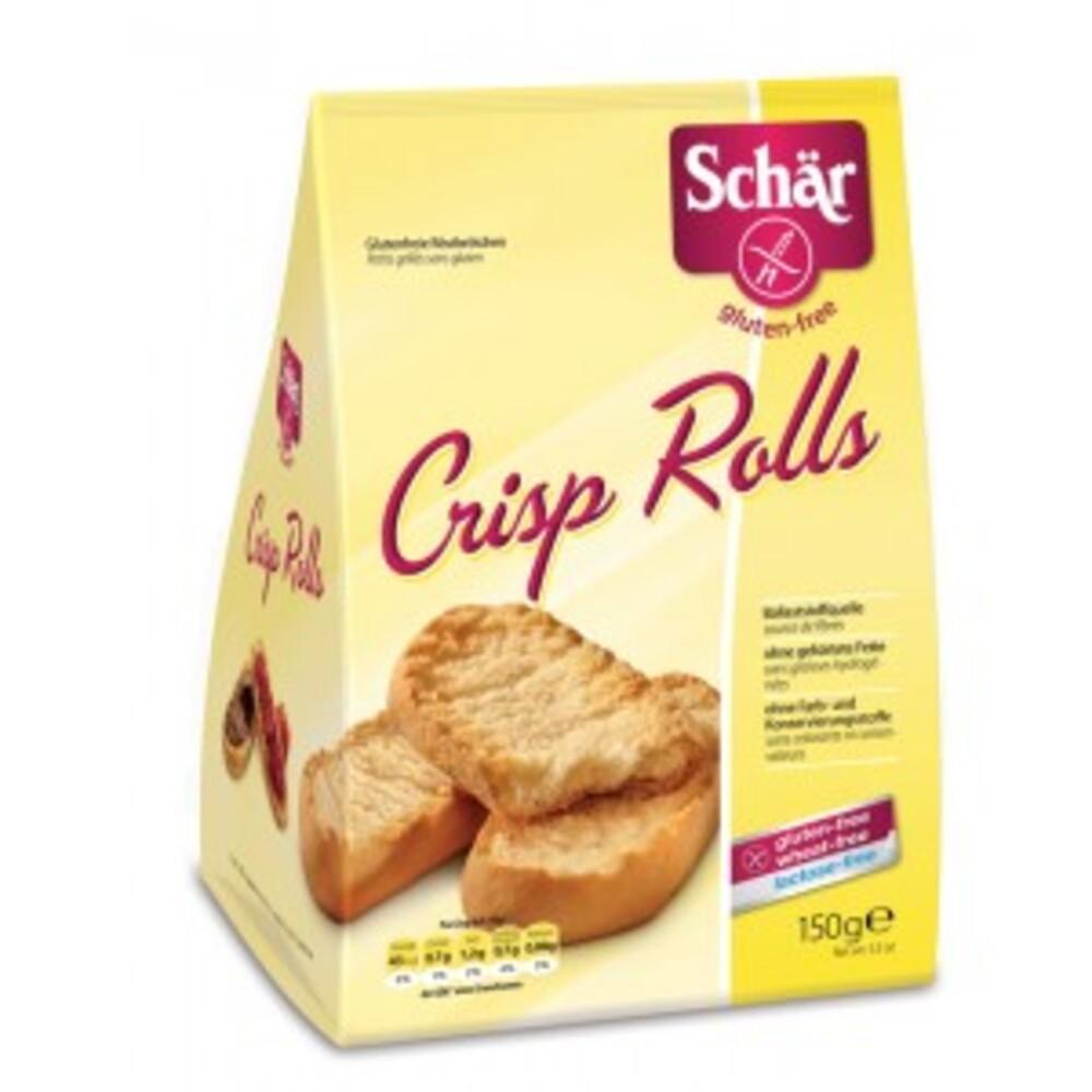 Crisp rolls, petits grillés - 150 g - divers - schar -138197