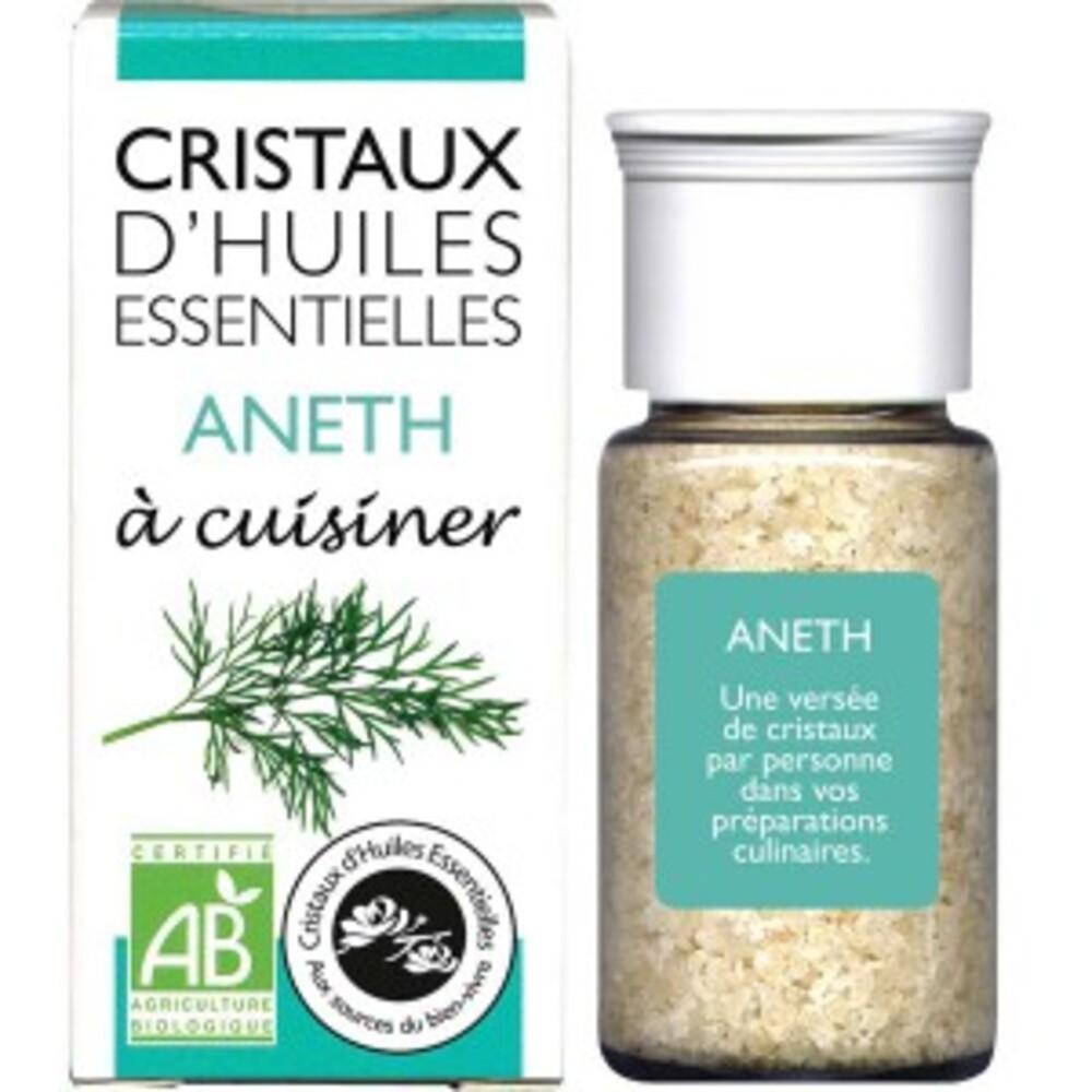 Cristaux d'huiles essentielles aneth bio - flacon de 18 g - divers - encens du monde - florisens -189106