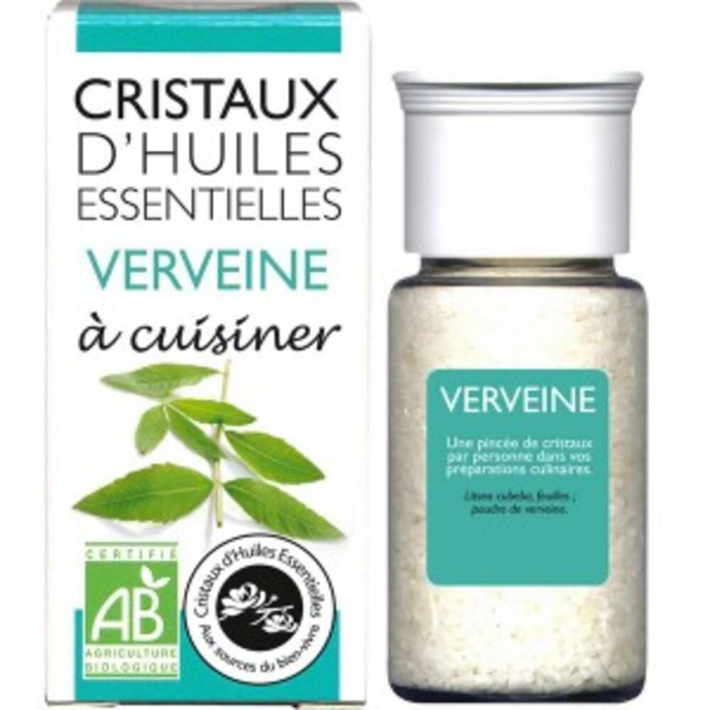 Cristaux d'huiles essentielles verveine - flacon 20 g - divers - florisens -135806