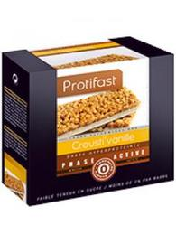 Crousti'vanille x7 - protifast Barre hyperprotéinée Crousti'Vanille Multi-phases-148445