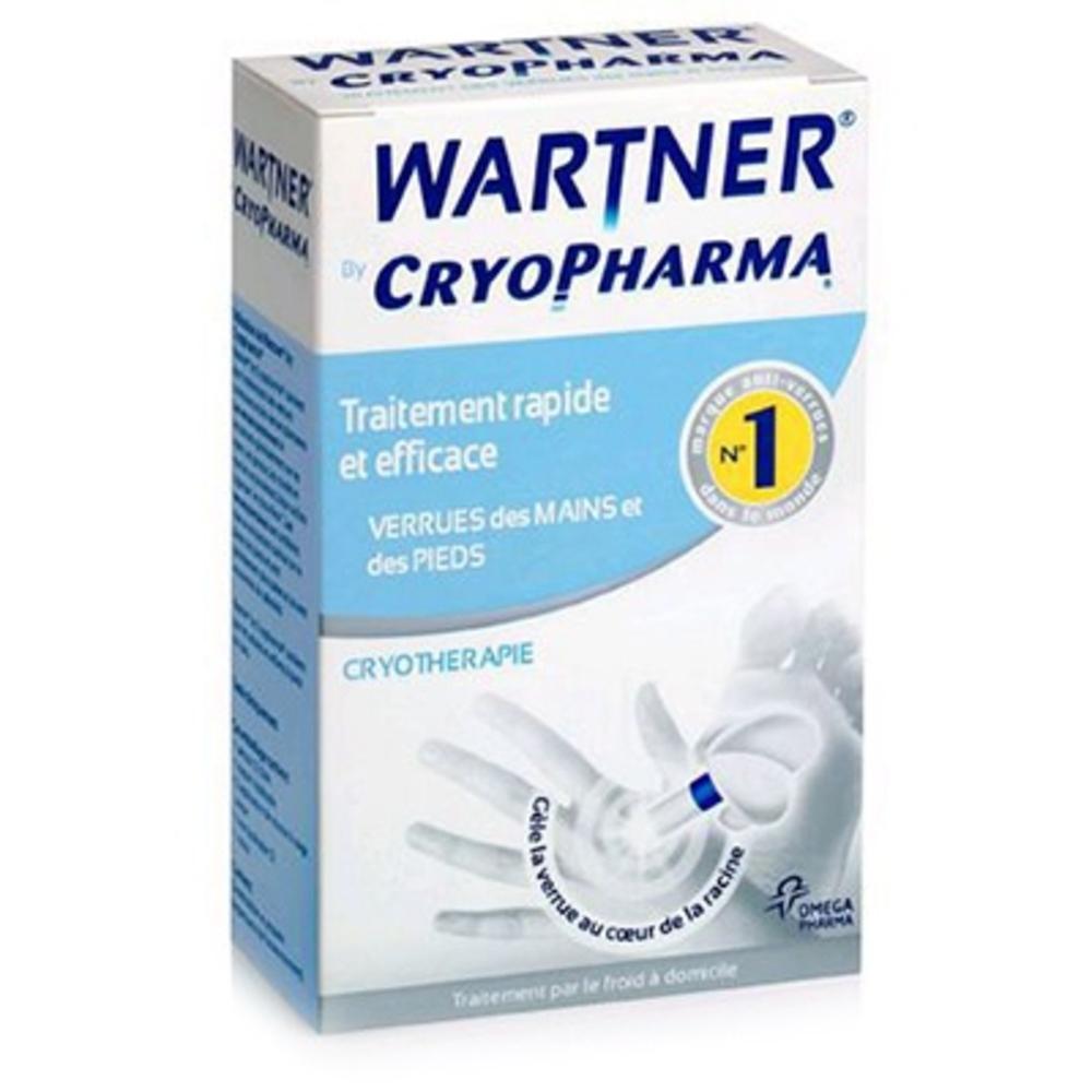 Cryopharma Traitement des Verrues Aérosol + Pansements - 50.0 ML - Cryopharma -190294