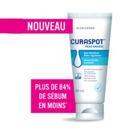Curaspot crème matifiante peaux grasses 50g - galderma -215545
