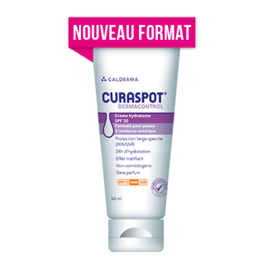Curaspot dermacontrol crème hydratante spf30 50ml - galderma -222639