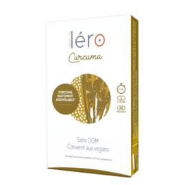 Curcuma 30 gélules - lero -215437