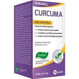 Curcuma age contrôle 30 gélules - evalar -226075