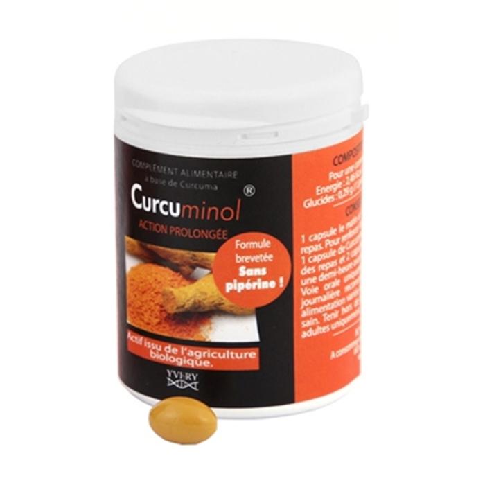 Curcuminol - 60 capsules Laboratoire yvery-201592