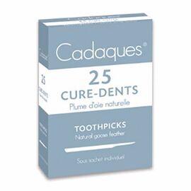 Cure-dents en plume d'oie naturelle x25 - cadaques -215137