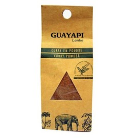 Curry poudre - 100 g - divers - guayapi -136303