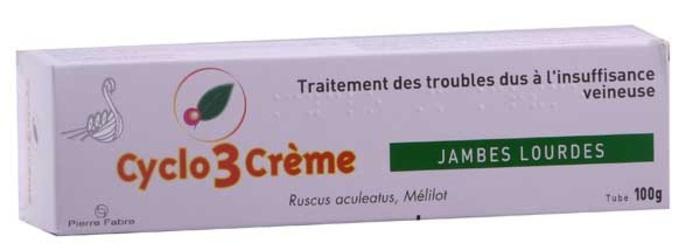 Cyclo 3 crème - 100g Pierre fabre-192978