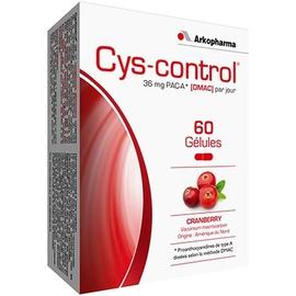 Cys control confort urinaire 60 gélules - 60.0 unites - cys control - arkopharma -105126
