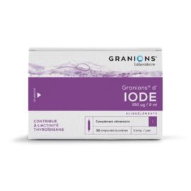D'iode 30 ampoules - granions -195284