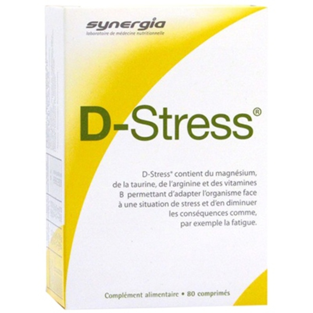 D stress - 80 comprimés - synergia -147787