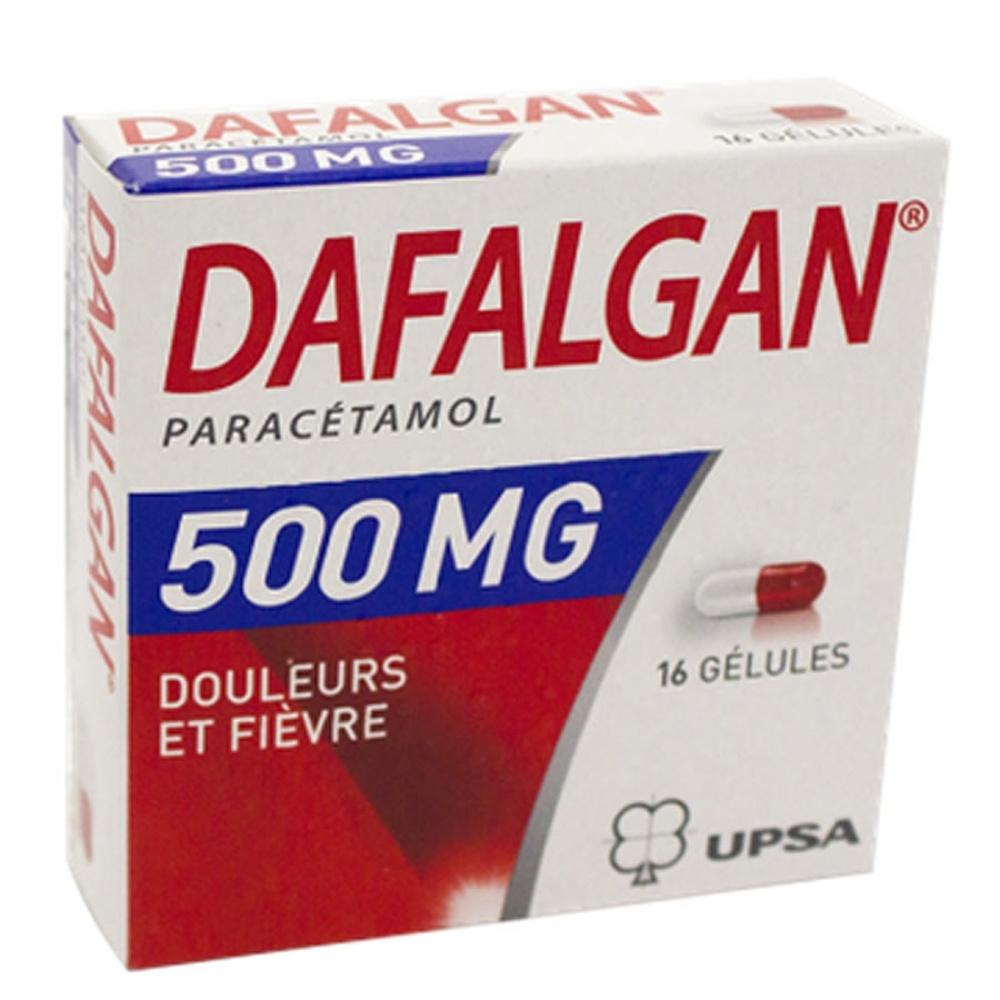 Dafalgan 500mg - 16 gélules - upsa -192138