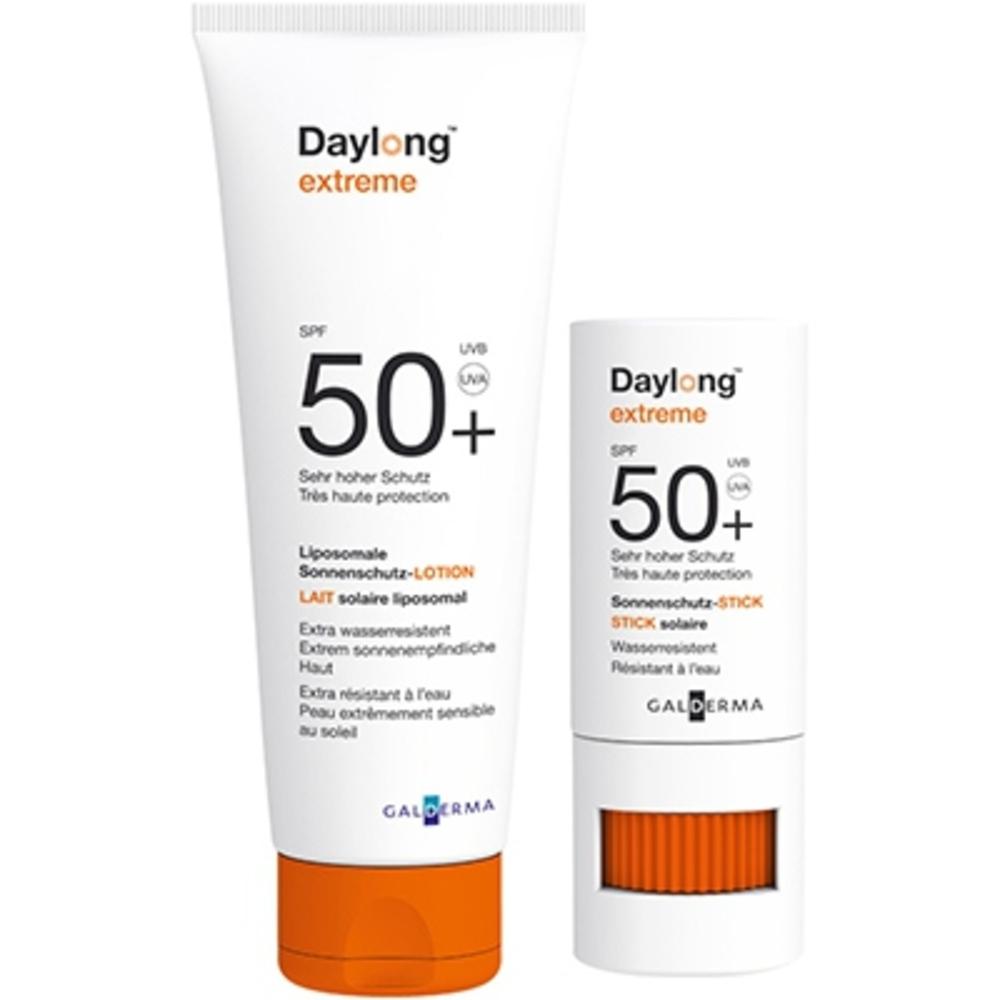 Daylong extrême spf50+ lait 50ml + stick 8ml - daylong -212732