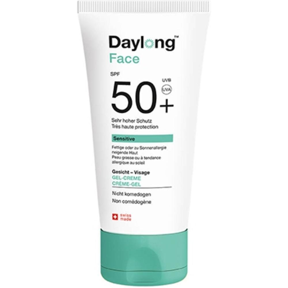 Daylong face sensitive gel-fluide léger spf50+ très haute protection 50ml - daylong -212733