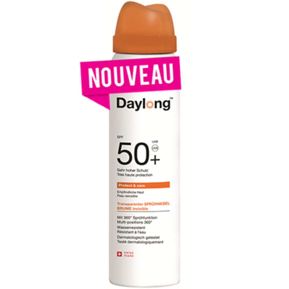 Daylong protect & care brume invisible spf50+ 155ml - daylong -214606