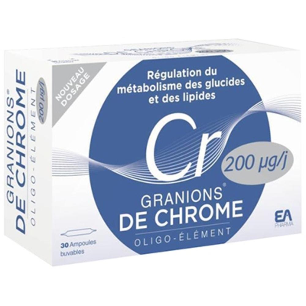 De chrome 200 microgrammes - granions -197041