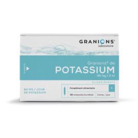 De potassium 30 ampoules - 2.0 ml - granions -148119