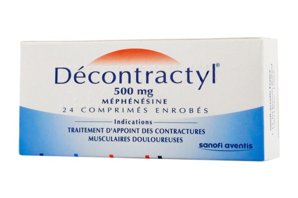 Decontractyl 500mg - 24 comprimés - sanofi -192909