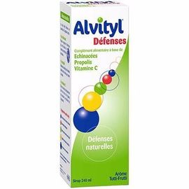 Défenses sirop 240ml - 240.0 ml - alvityl -147861
