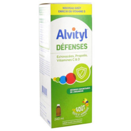 Défenses sirop 240ml - alvityl -227050