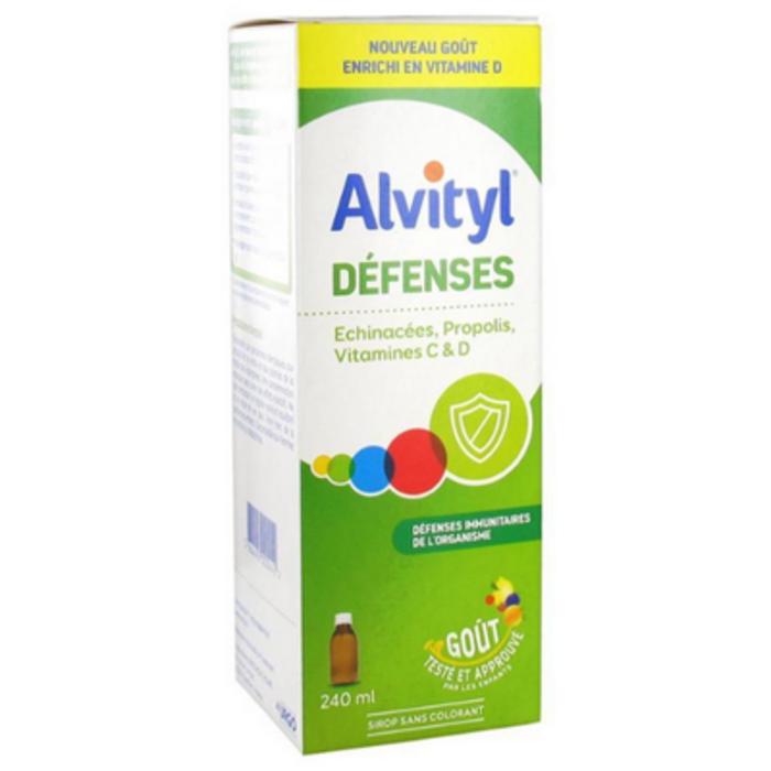 Défenses sirop 240ml Alvityl-227050