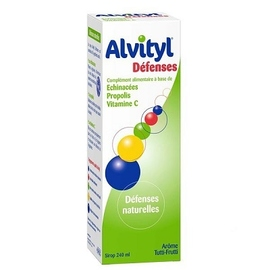 Défenses sirop sans sucres 240ml - 240.0 ml - alvityl -148004