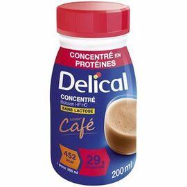Delical concentré boisson hp hc café lot de 4 bouteilles x 200ml - délical -216687