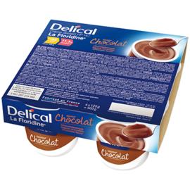 Delical crème dessert hp hc la floridine chocolat pack 4 pots x 200g - 800.0 g - délical -149349