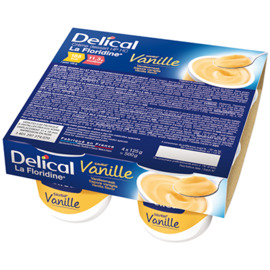 Delical crème dessert hp hc la floridine vanille pack 4 pots x 200g - 800.0 g - délical -149359