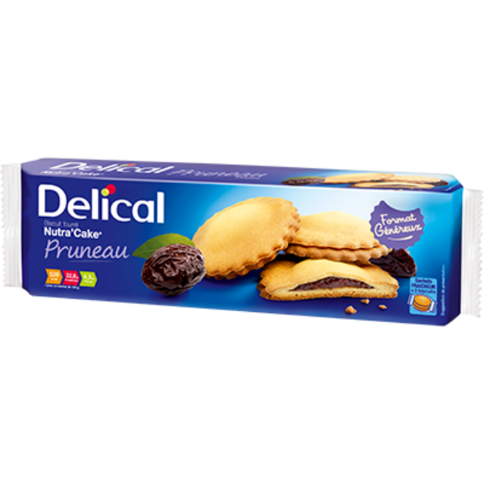 Delical nutra'cake pruneaux 3x3 biscuits Délical-228062