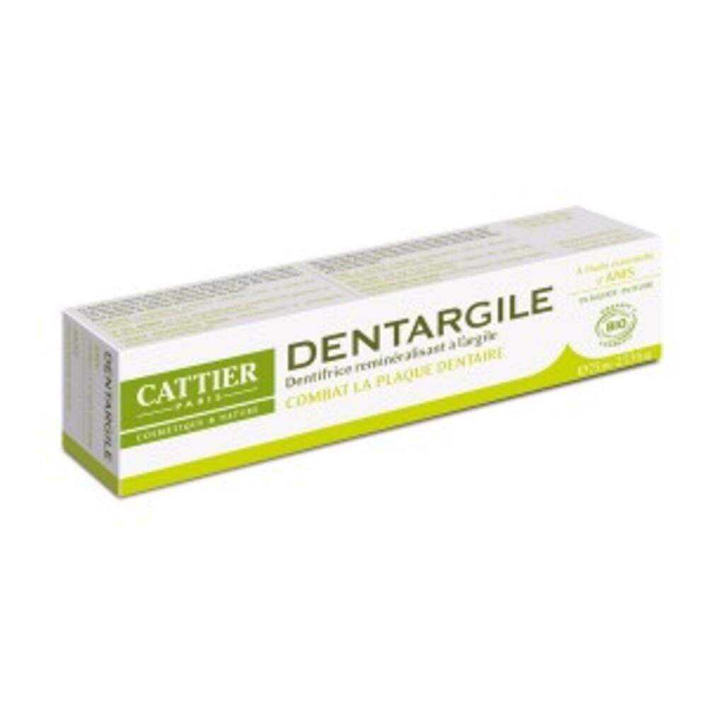 Dentargile anti-tartre anis bio - 75.0 ml - dentargile - cattier Anti-plaque dentaire et anti-tartre-1509