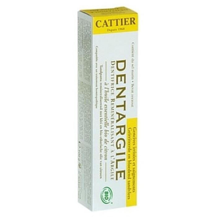 Dentargile citron bio Cattier-1510