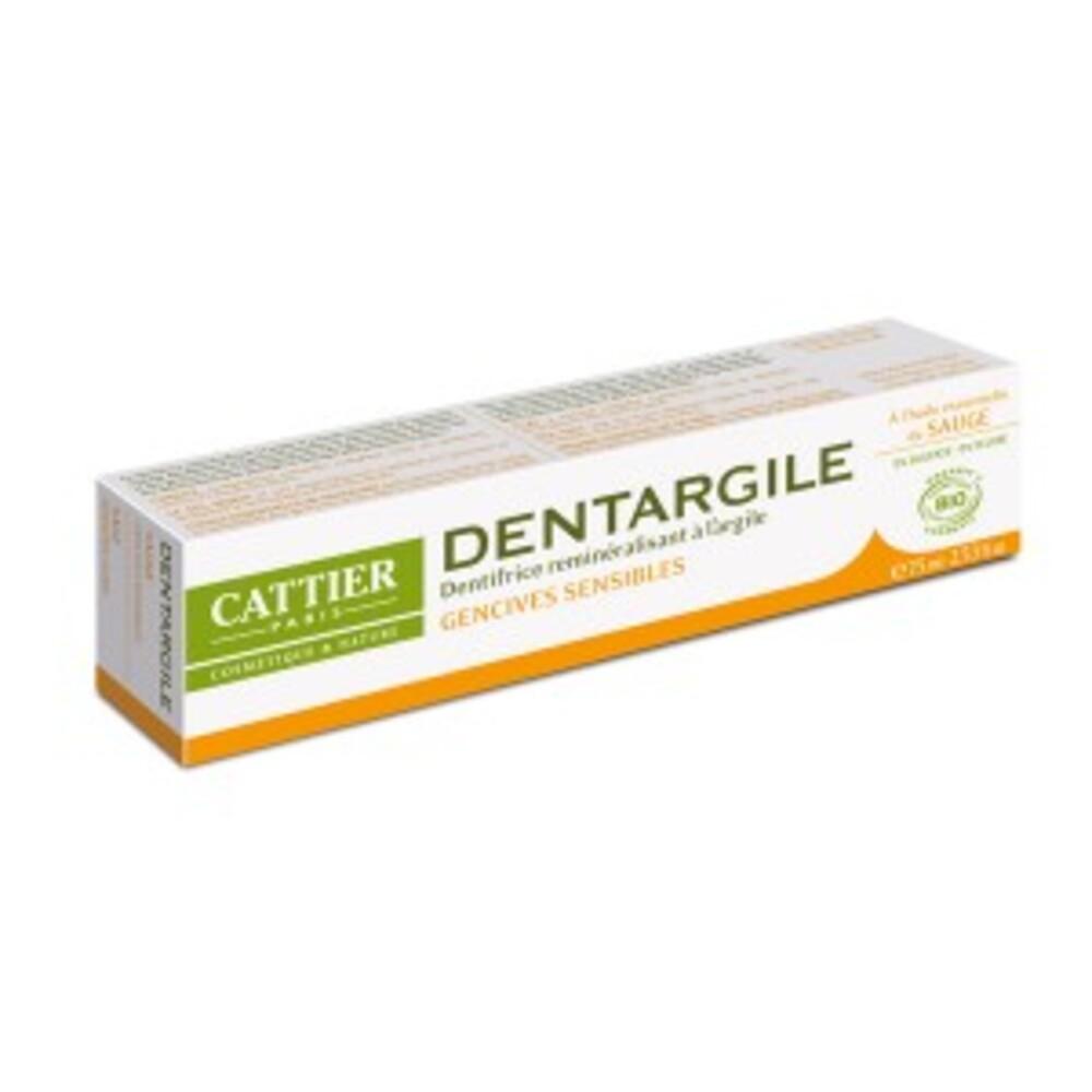 Dentargile sauge bio - 75.0 ml - dentargile - cattier Gencives douloureuses-1508
