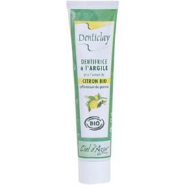 Denticlay dentifrice à l'argile et citron bio 75ml - denticlay -222963