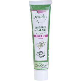 Denticlay dentifrice à l'argile et thym bio 75ml - denticlay -222967