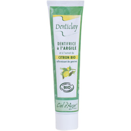 Dentifrice à l'argile et citron bio 75ml - denticlay -222963