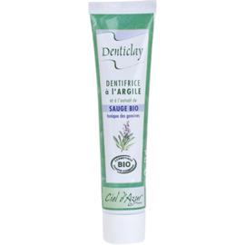 Dentifrice à l'argile et sauge bio 75ml - denticlay -222966