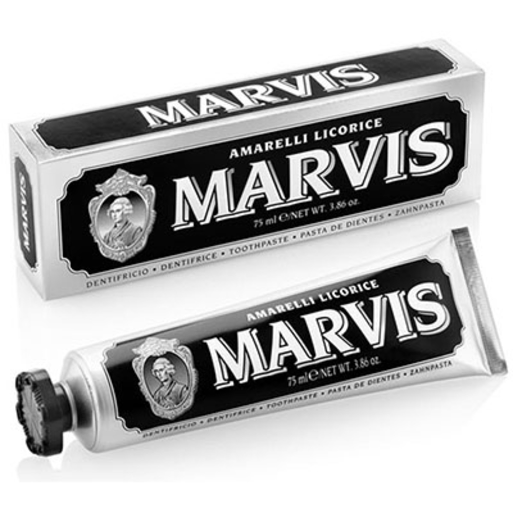 Dentifrice amarelli licorice 25 ml - marvis -196465