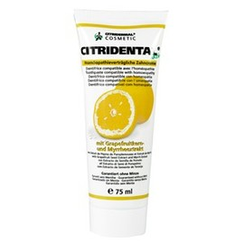 Dentifrice  citridental - 75.0 ml - citridermal - citrobiotic Sans paraben-7449
