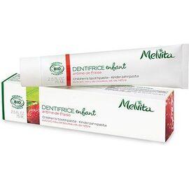 Dentifrice enfant arôme de fraise bio 75ml - dentifrices aux arômes logo naturels - melvita -213452
