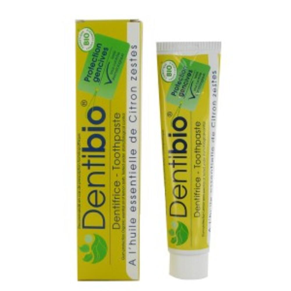 Dentifrice protection gencives au citron - 75.0 ml - les cométiques bio - bioregena -10049