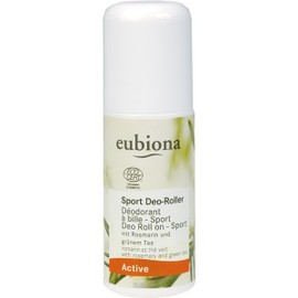 Déodorant à bille romarin et thé vert bio - 50.0 ml - active sport bio - eubiona -14465