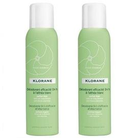 Déodorant efficacité 24h à l'althéa blanc spray lot de 2 x 125ml - divers - klorane -128002