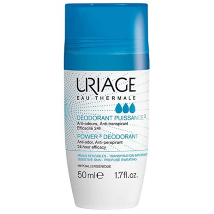 Déodorant puissance 3 roll-on - 50ml Uriage-204772