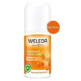Déodorant roll-on argousier 50ml - weleda -226836