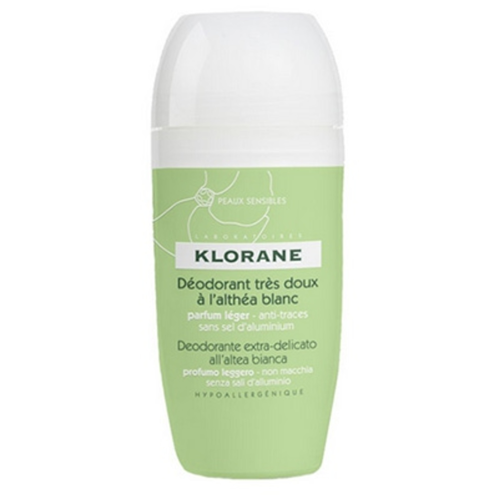 Déodorant très doux à l'althéa blanc roll-on 40ml - divers - klorane -127997