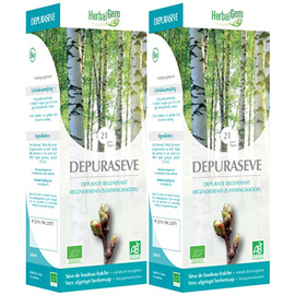 Depuraseve bio lot de 2 x 250ml - herbalgem -220543
